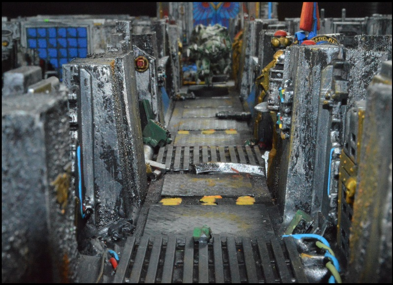 Scratch Built Space Hulk Lost To The Void Miniature