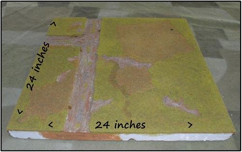 Mark II modular terrain boards (sold) | Miniature Addiction