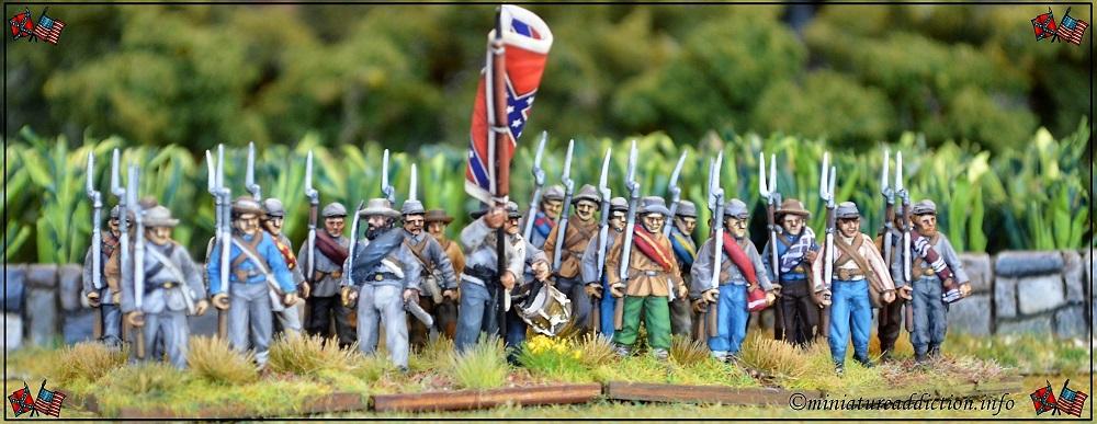 28mm ACW Infantry | Miniature Addiction